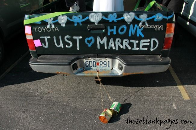 Just married! :)