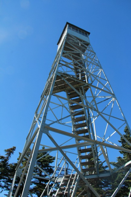 Fire tower--Blank Pages