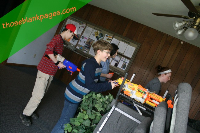My Trip to Missouri, the nerf war-- Blank Pages