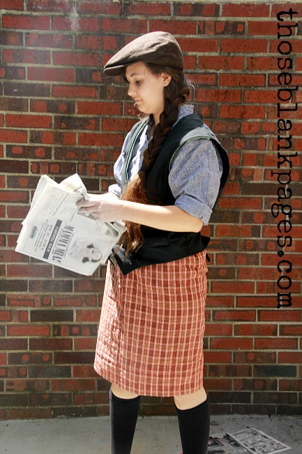 My Newsies Cosplay!--Newsies
