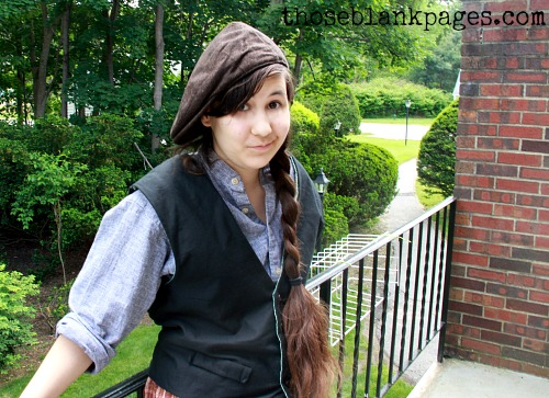 My Newsies Cosplay!--Blank Pages